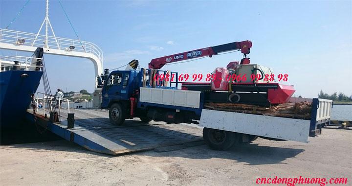 Hành trình vận chuyển máy đục cnc 3d 1325 về Phú Quốc, Kiên Giang3