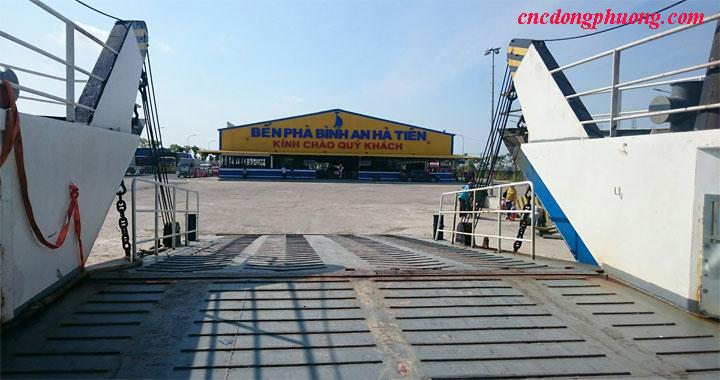 Hành trình vận chuyển máy đục cnc 3d 1325 về Phú Quốc, Kiên Giang6