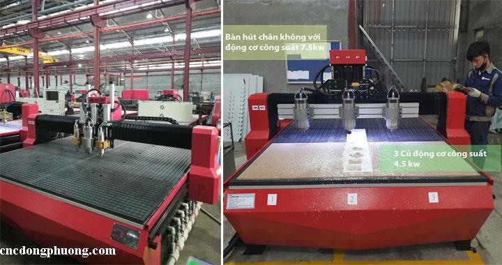 Máy cnc cắt ván công nghiệp, máy cắt quảng cáo tại Đông Phương5