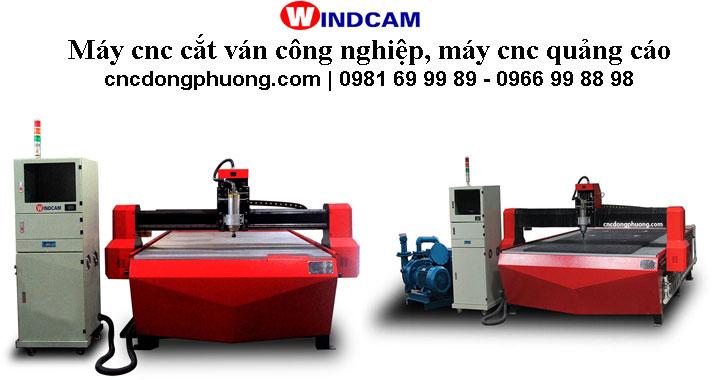 Máy cnc cắt ván công nghiệp, máy cắt quảng cáo tại Đông Phương