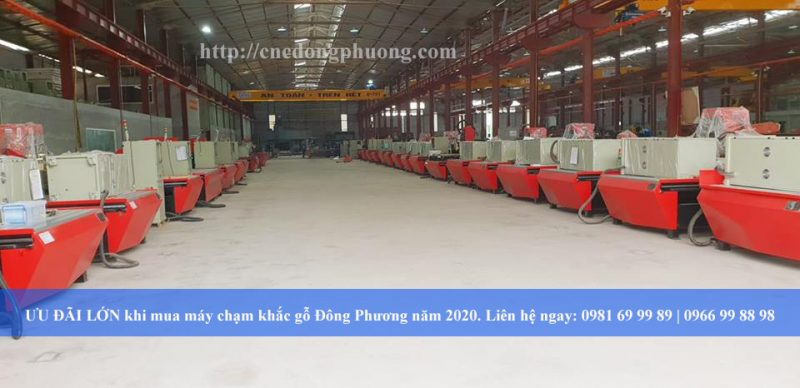ƯU ĐÃI LỚN khi mua máy chạm khắc gỗ Đông Phương năm 2020