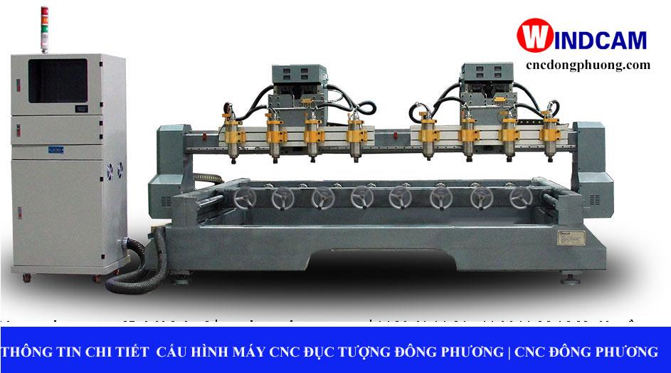 Thông tin chi tiết về máy cnc đục tượng Đông Phương sản xuất