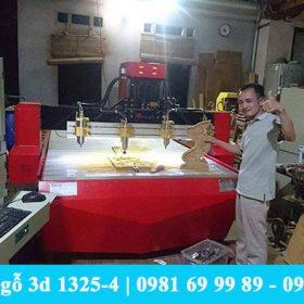 Làng nghề mộc Chợ Mới, An Giang đánh giá cao máy chạm gỗ Đông Phương