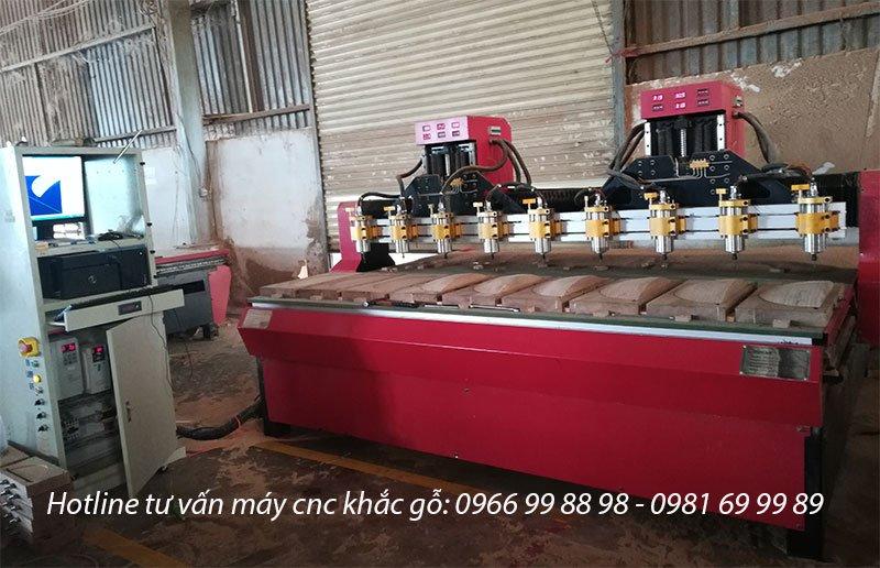 BÁO GIÁ máy cnc gỗ nhiều đầu khổ lớn Đông Phương tại Đồng Nai2