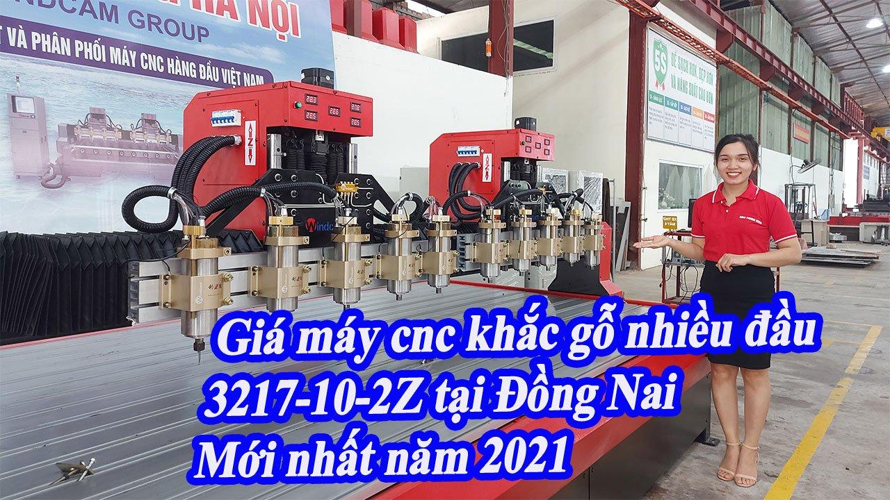 BÁO GIÁ máy cnc gỗ nhiều đầu khổ lớn Đông Phương tại Đồng Nai